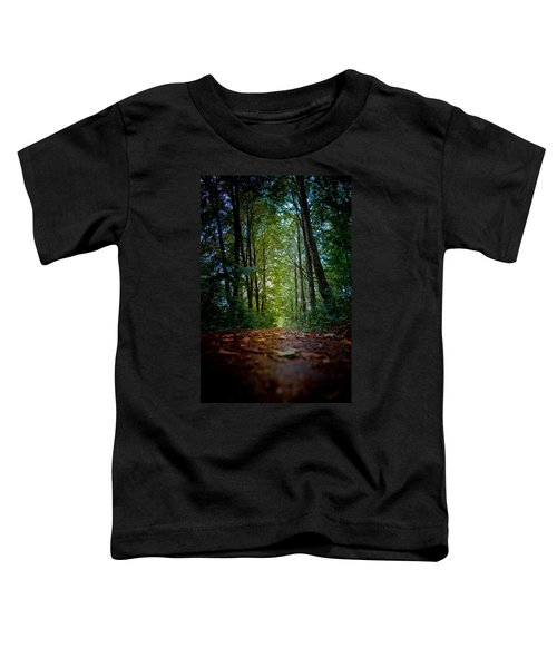 The Pathway In The Forest Toddler T-Shirt
