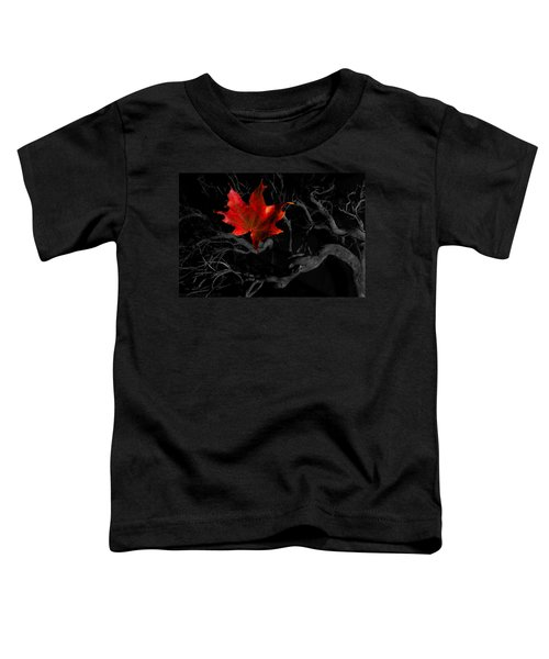 The Red Leaf Toddler T-Shirt