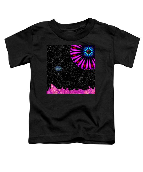 Unexpected Visitor Toddler T-Shirt