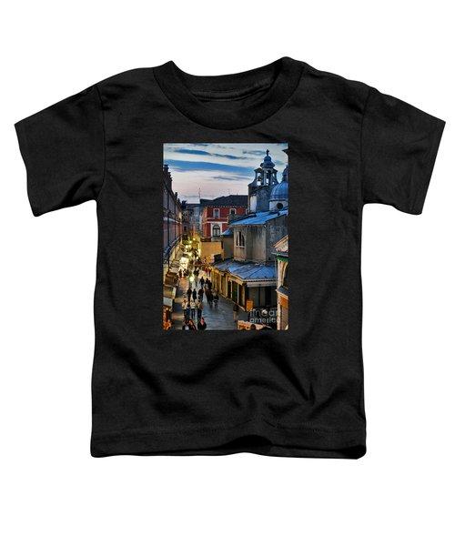Venice From Ponte Di Rialto Toddler T-Shirt