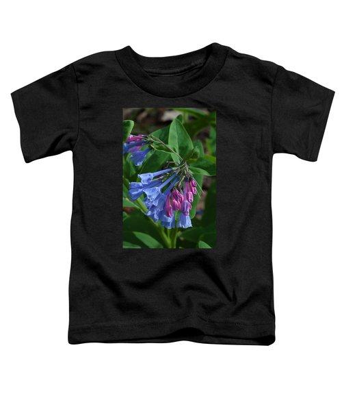 Virginia Bluebells Toddler T-Shirt