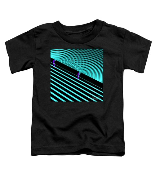 Waves Two Slit 4 Toddler T-Shirt