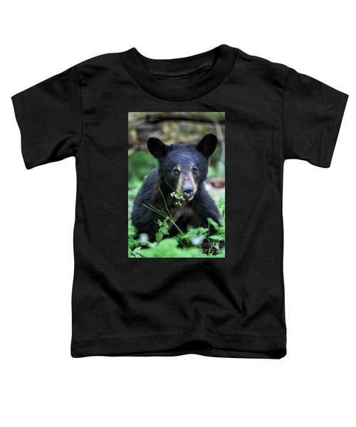 Wildflower Bear Toddler T-Shirt