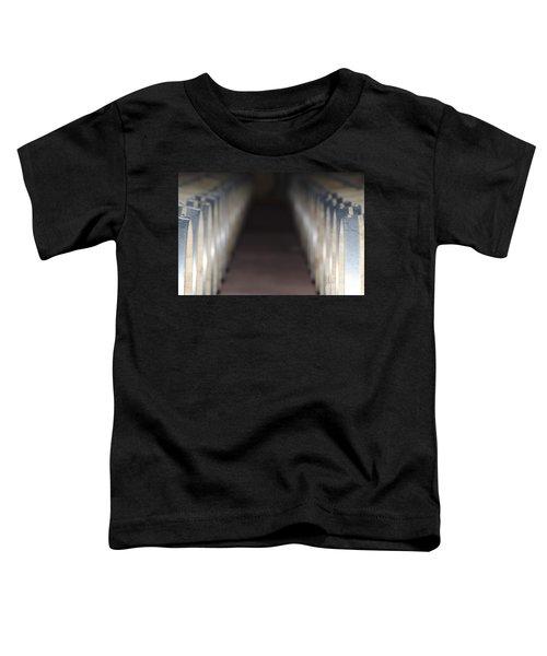 Wine Barrels In Line Toddler T-Shirt