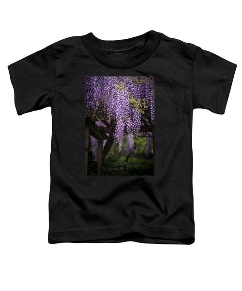 Wisteria Droplets Toddler T-Shirt