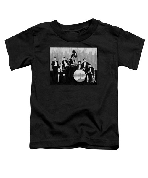 Wolverines Black And White Toddler T-Shirt