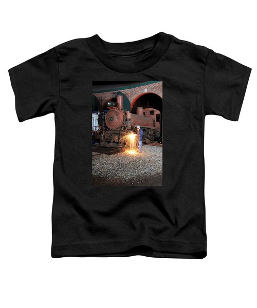 Working On The Railroad Toddler T-Shirt
