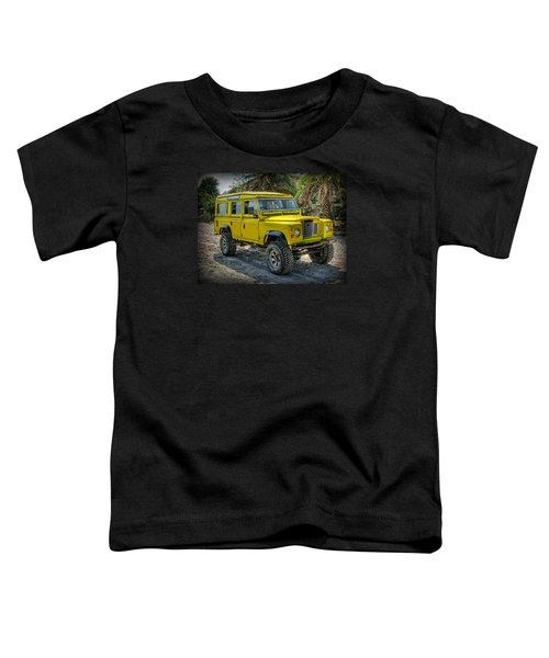 Yellow Jeep Toddler T-Shirt