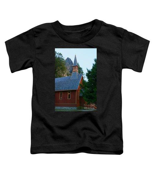 Yosemite Chapel Toddler T-Shirt
