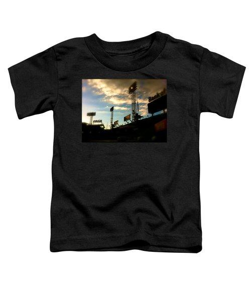 Fenway Lights Fenway Park David Pucciarelli  Toddler T-Shirt