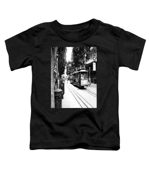 021016 San Francisco Trolly Toddler T-Shirt