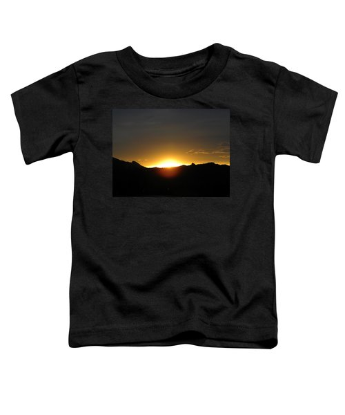 Sunrise West Side Of Rmnp Co Toddler T-Shirt