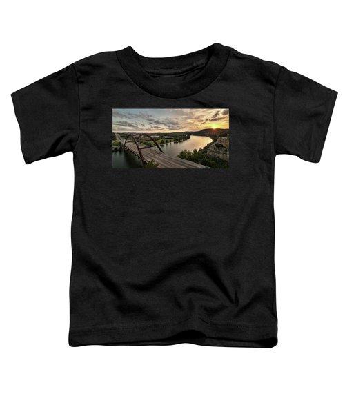 360 Bridge Sunset Toddler T-Shirt
