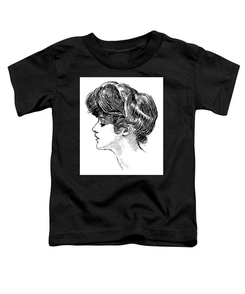 A Gibson Girl Toddler T-Shirt