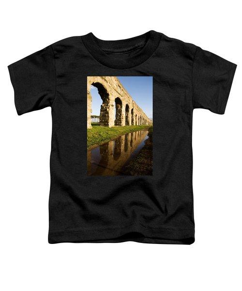 Aqua Claudia Aqueduct Toddler T-Shirt