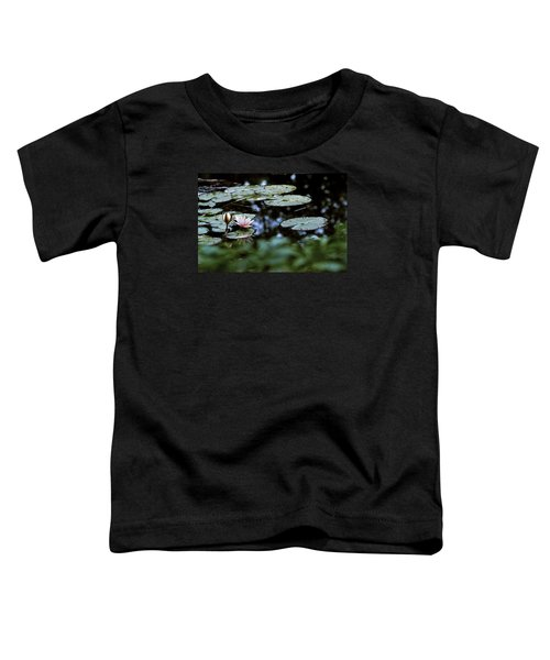 Toddler T-Shirt featuring the photograph At Claude Monet's Water Garden 6 by Dubi Roman