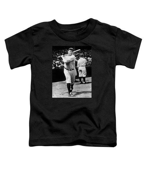 Babe Ruth Toddler T-Shirt by American School