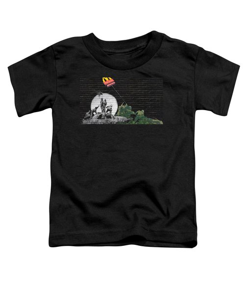 Banksy - The Tribute - New World Order Toddler T-Shirt