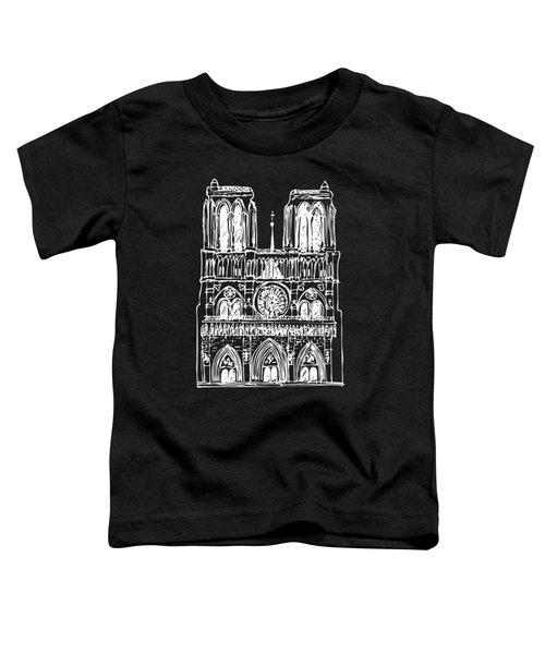 Basilica Notre Dame Toddler T-Shirt
