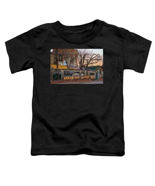 Broadway Oyster Bar Toddler T-Shirt