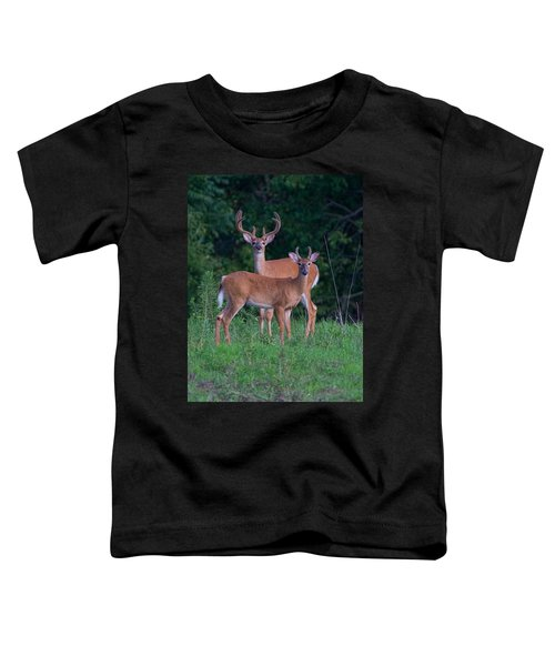 Buck Father And Son Toddler T-Shirt