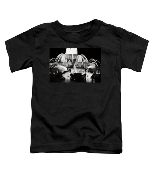 Buckingham Fountain At Night Toddler T-Shirt