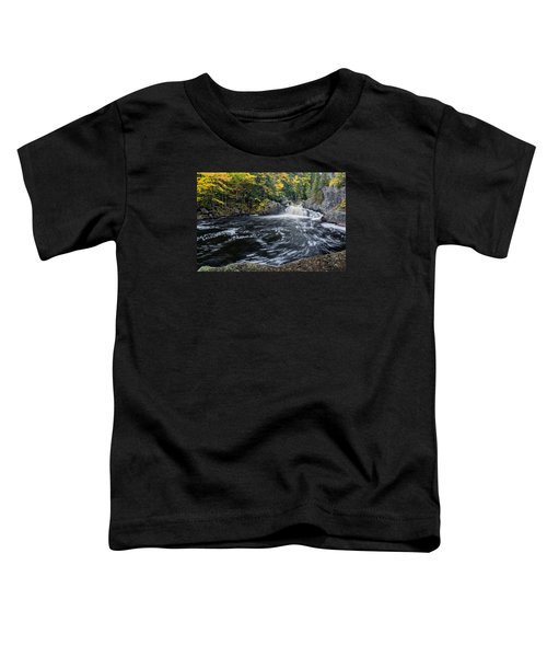 Buttermilk Falls Gulf Hagas Me. Toddler T-Shirt