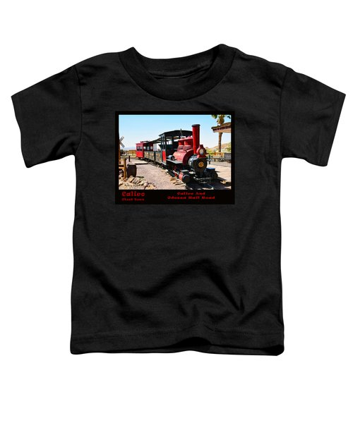 Calico And Odessa Rail Road Photo Toddler T-Shirt