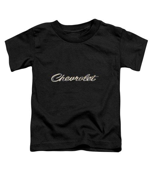Chevrolet Emblem Toddler T-Shirt