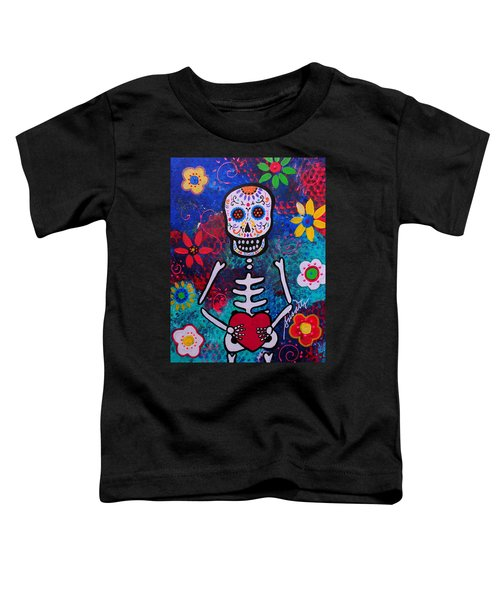 Corazon Day Of The Dead Toddler T-Shirt
