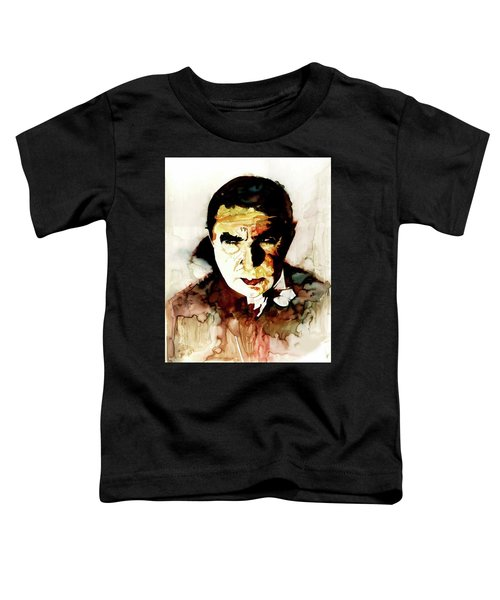 Count Dracula - Bela Lugosi Toddler T-Shirt