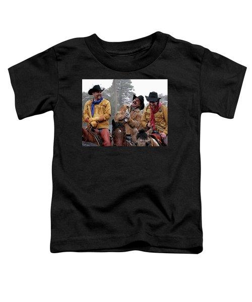 Cowboy Humor Toddler T-Shirt