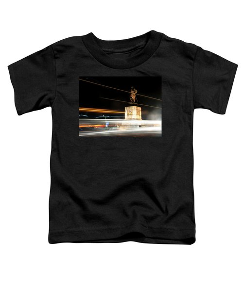 Drake's Statue Traffic Trails Iv Toddler T-Shirt