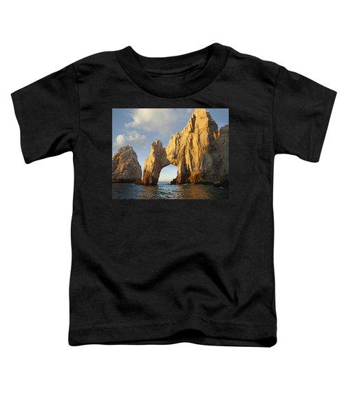 El Arco And Sea Stacks Cabo San Lucas Toddler T-Shirt