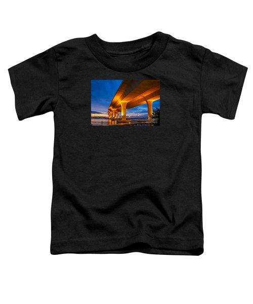 Evening On The Boardwalk Toddler T-Shirt