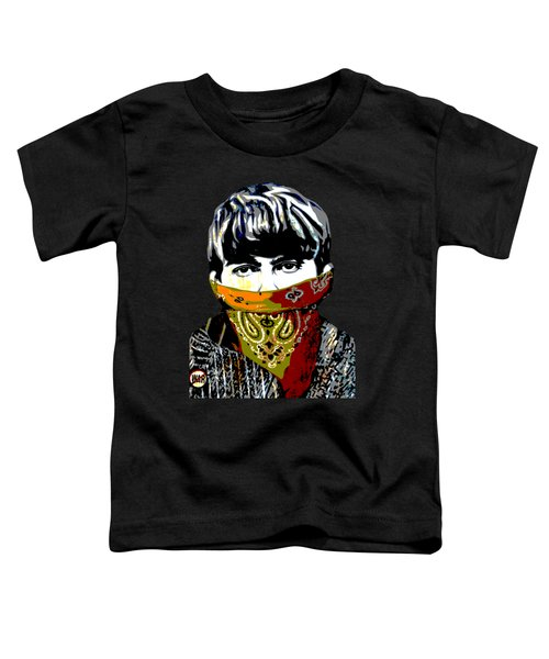 George Harrison Toddler T-Shirt by RicardMN Photography