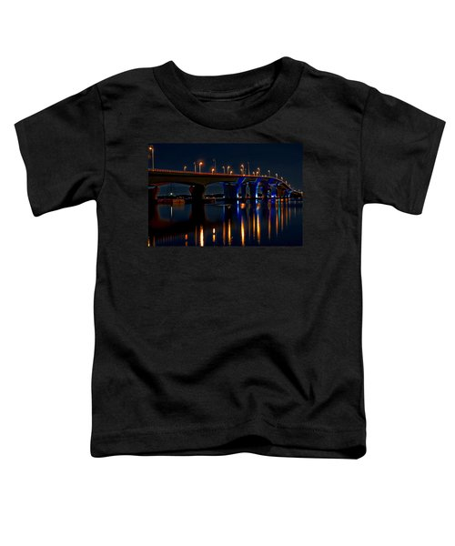Hathaway Bridge At Night Toddler T-Shirt