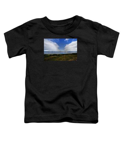 Irish Sky - Ring Of Kerry, Dingle Bay Toddler T-Shirt