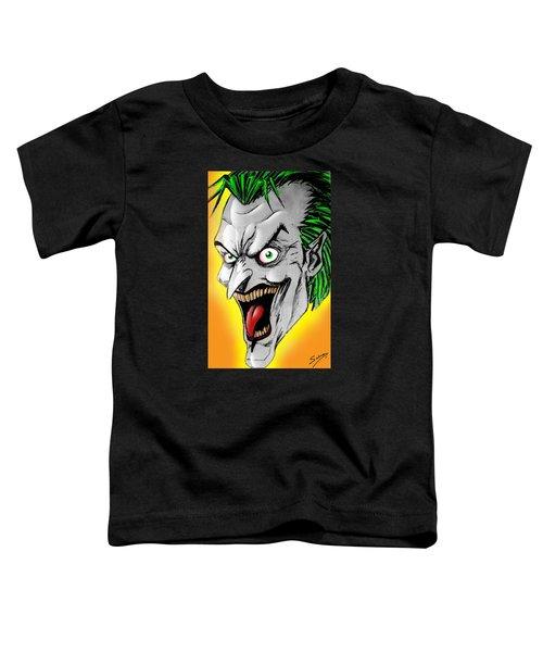 Joker Toddler T-Shirt by Salman Ravish
