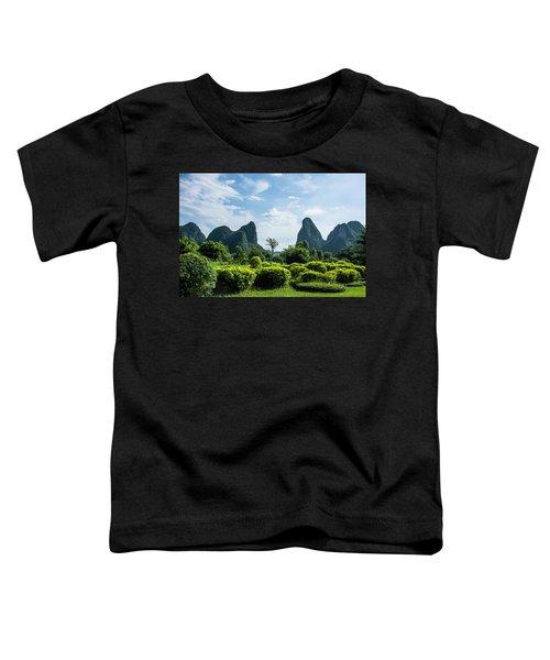 Karst Mountains Scenery Toddler T-Shirt