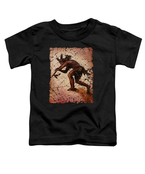 Kokopelli The Flute Player  Toddler T-Shirt