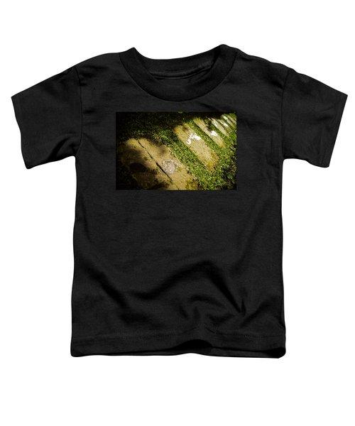 Light Footsteps In The Garden Toddler T-Shirt