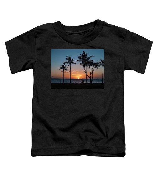 Maui Sunset Toddler T-Shirt