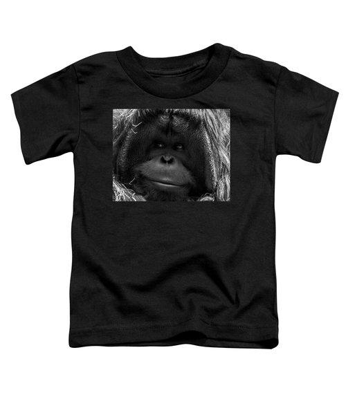 Orangutan Toddler T-Shirt by Martin Newman
