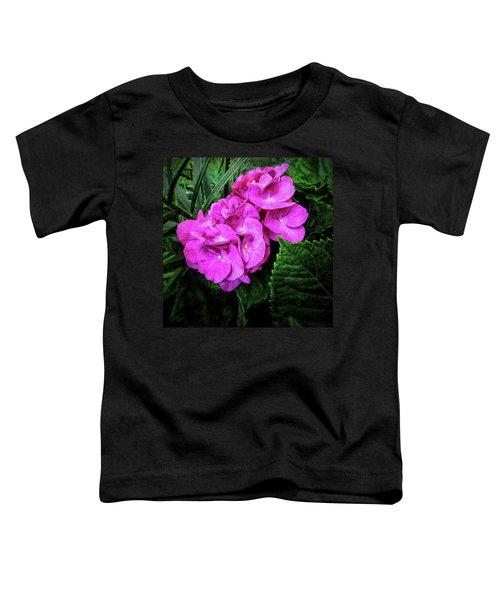 Painted Hydrangea Toddler T-Shirt