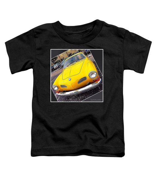 Photoshopping The #yellow #karminnghia Toddler T-Shirt