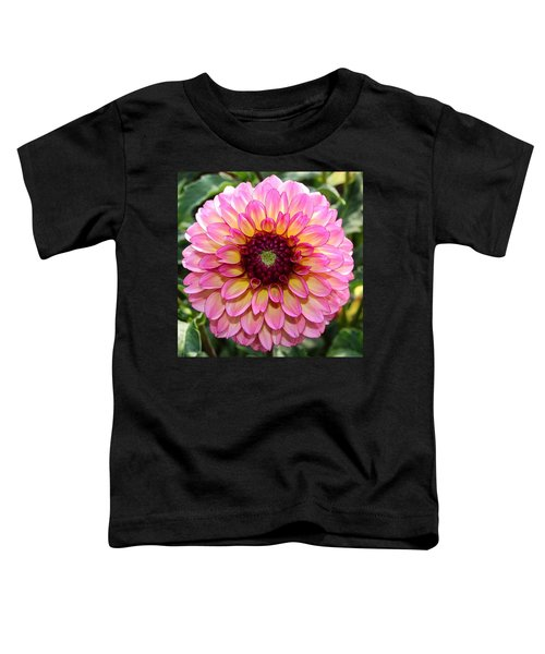 Pink Dahlia Toddler T-Shirt