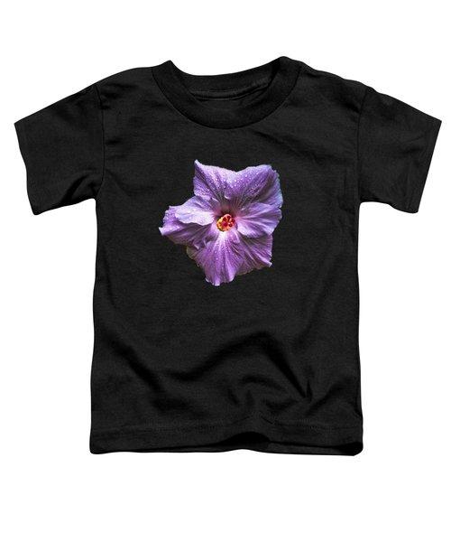 Purple Hibiscus Toddler T-Shirt