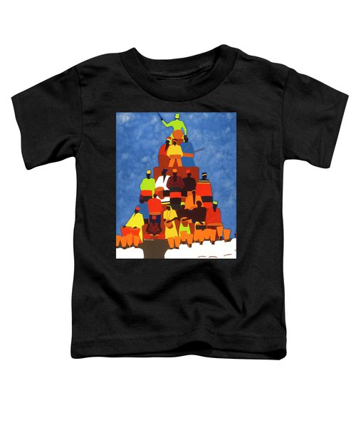 Pyramid Of African Drummers Toddler T-Shirt