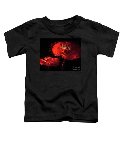 Two Red Poppies Toddler T-Shirt